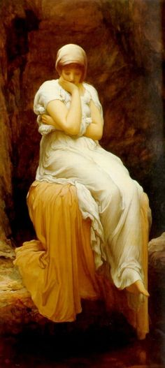 Solitude, by Frederick Leighton, ca. 1890. Like an old friend.