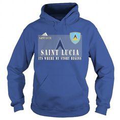Awesome Tee  Saint-Lucia  Shirts & Tees
