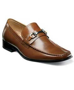 Stacy Adams Shoes, Lewis Moc Toe Slip On Loafers - Mens Loafers & Slip Ons  - Macy's
