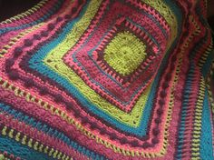 Ravelry: Project Gallery for Faeries- Baby Sampler Afghan pattern by Elizabeth Mareno