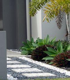 Low Maintenance Landscape Design Drought Tolerant Succulents Garden 16 Super Ide… - All For Garden Succulent Landscaping, Front Yard Landscaping, Succulents Garden, Landscaping Ideas, Florida Landscaping, Modern Landscaping, Low Maintenance Landscaping, Low Maintenance Garden, Petunias