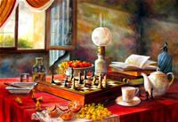 The Art World directory of artists from France features French artist Marc-Yves Hembert - Oil paintings by Marc-Yves Hembert. French Artists, Art World, Table Settings, France, Place Settings, Tablescapes, French