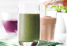 smoothies juillet Innocent Drinks, Valeur Nutritive, Nutrition, Milkshake, Brunch, Glass Of Milk, Alcoholic Drinks, Health Fitness, Food And Drink