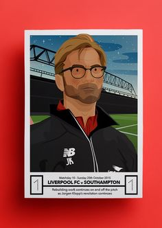Image of LFC POSTCARD 2015/16 - 10