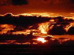 Sunset at Ocean Shores - becgar