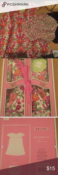 Vera Bradley 6-9 months New in packaging Vera Bradley 6-9 months set...dress and bloomers Vera Bradley Dresses Casual