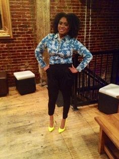 What I wore to the Luv & Learn Your Hair Tour stop in DC