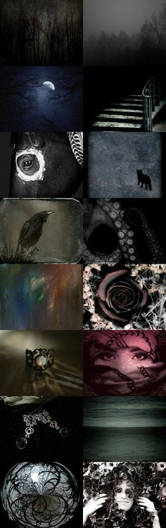 Dark and Mysterious by Laura L Olinger on Etsy--Pinned with TreasuryPin.com