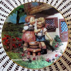 M.I. Hummel SQUEAKY CLEAN Little Companions Series Collectors Plate Danbury MINT
