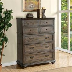 Belmeade Five Drawer Chest I Riverside Furniture