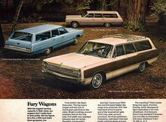 ◆1968 Plymouth Fury Wagons◆