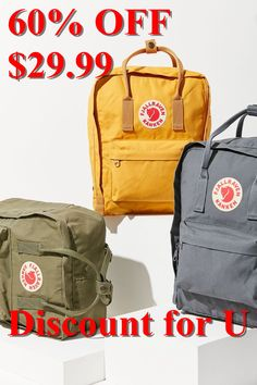 Shop Fjallraven Kanken Backpack at Urban Outfitters today. We carry all the latest styles, colors and brands for you to choose from right here. Best Travel Backpack, Mini Backpack, Vsco, Thing 1, Cool Backpacks, Cleaning Wipes, Basel, Urban Outfitters, My Style