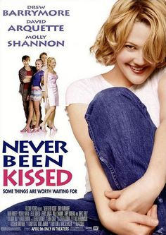 Never Been Kissed 1999 (Starring Drew Barrymore, David Arquette, Molly Shannon) Drew Barrymore, See Movie, Movie List, 90s Movies, Great Movies, Comedy Movies, Tumblr Boys, Recital, Never Been Kissed Movie