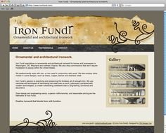 Iron Fundi Website (HTML, CSS, Wordpress) - www.ironfundi.com