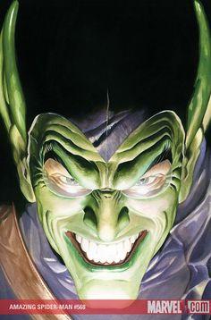Green Goblin by Alex Ross.