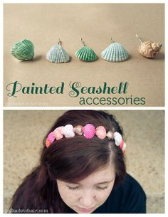 DIY Seashell Jewelry Tutorial from Polka Dot Chair for Everything Etsy here. I've received a message asking for more seashell DIYs and...