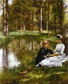 Artist Julius LeBlanc Stewart Philadelphia, Pennsylvania,6 September 1855 -5 January 1919; Paris, France