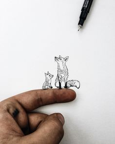 Can't wait to be a father one day to my own little fox. Inspiration for the day…