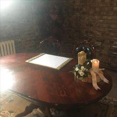 Anvil Halls signing desk
