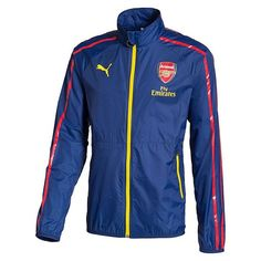 19abd6b5b This lightweight Arsenal jacket helps keep the wind and rain off of you. Puma  Arsenal