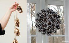 Billigt och snyggt blir det med kottar som dekoration i hemmet. Här är 15 inspirerande kottidéer.