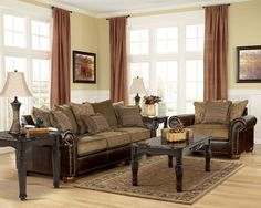 Ashley Braelyn Cafe Sofa And Loveseat