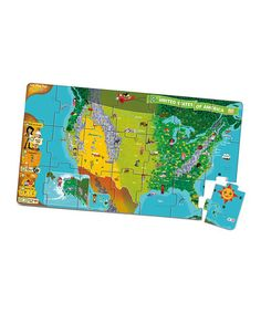 Look at this #zulilyfind! United States Interactive Puzzle Map for TAG by LeapFrog #zulilyfinds
