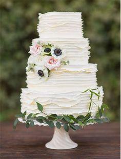 Coisa mais linda e delicada! #Cake #CakeWedding