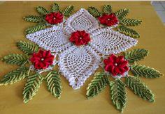 Free crochet flowers table runner patterns - Patterns for Beginners