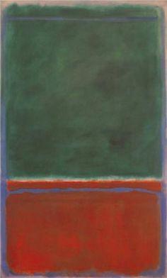 Mark Rothko, Green and Maroon, 1953