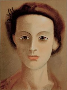 Andre Derain, Portrait of a Woman, 1939.  Art Experience NYC  www.artexperiencenyc.com