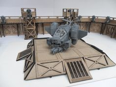 Angry Badger Barricade Kit Review, Warhammer 40k. I think I'm going to order everything these people make. It's all so cool.