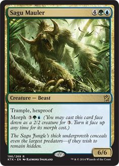 Sagu Mauler | Magic: The Gathering Card