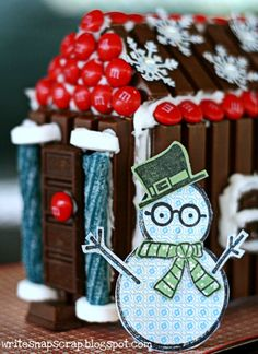 I remember as a small child being so excited to make a gingerbread house with my Grandma. Then being disappointed that it tasted so awful! ...