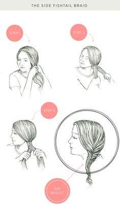 Fishtail braid tutorial: http://www.stylemepretty.com/living/2013/05/16/how-to-braids-three-ways/ | Photography: KT Merry - http://www.ktmerry.com/