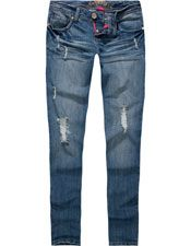 AMETHYST Back Flap Womens Flare via Tillys: cute jeans to wear with boots