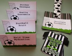 Top Soccer Decor With Soccer Party Decorations Soccer Birthday Parties, Sports Birthday, Soccer Party, Birthday Games, Sports Party, Birthday Ideas, 10 Birthday, Soccer Decor, Soccer Theme
