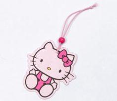 Hello Kitty Paper Air Freshener: Sitting