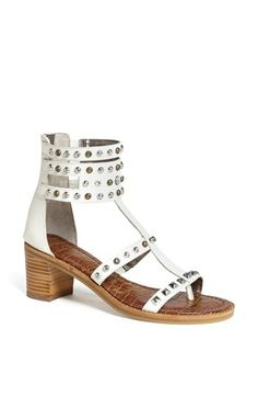 Sam Edelman 'Dion' Sandal available at #Nordstrom?....in tan, not white