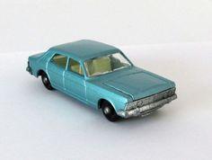 Vintage Lesney Matchbox Ford Zodiac MK IV #53 1968 #MatchboxLesney #FordZodiacMKIV