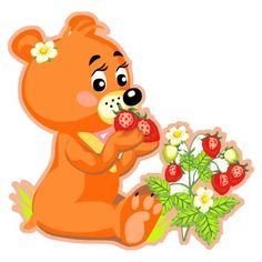 Google Image Result for http://rlv.zcache.com/cute_bear_eating_strawberries_acrylic_cut_outs-p153035613253752021bfr64_400.jpg