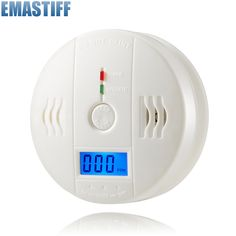 High Sensitive Home Security 85dB Warning LCD Photoelectric Independent CO Gas Sensor Carbon Monoxide Poisoning Alarm Detector
