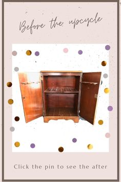 Click the pin to see how it turned out... Diy Furniture Cheap, Diy Barbie Furniture, Diy Outdoor Furniture, Upcycled Furniture, Wood Furniture, Diy Furniture Restoration, The Gambit, Wood Projects, Furniture Projects