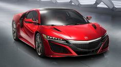 Acura's NSX is finally here, and it's got a 550+ horsepower hybrid powertrain.