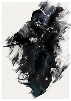 Corvo from Dishonored by AJ Hateley