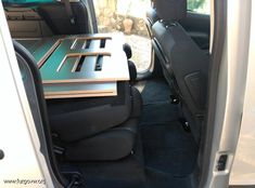 Mini Camper, Camper Van, Peugeot, Berlingo Camper, Kangoo Camper, Campervan Bed, Camping Box, Chuck Box, Coffee Shop Design