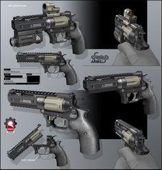 ArtStation - Revolver .357, Kris Thaler
