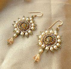 Elizabethan Splendour earrings