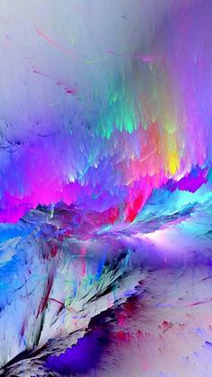 Cool And Cute Backgrounds Rainbow Wallpaper, Colorful Wallpaper, Galaxy Wallpaper, Iphone Wallpaper, Cool Backgrounds, Wallpaper Backgrounds, Cool Pictures For Wallpaper, Instalation Art, Fractal Art