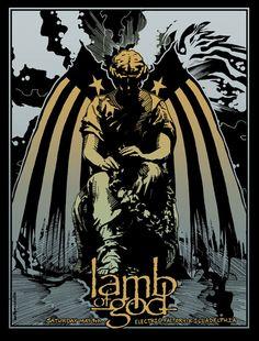 Lamb Of God. Electric Factory. Killadelphia.